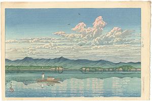 東海道風景選集 浜名湖 / 川瀬巴水