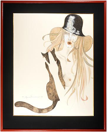 黒猫を抱く女 / 米倉斉加年