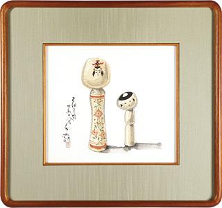 こけし図 / 武井武雄