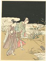 蛍狩り【復刻版】 / 春信