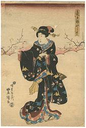 亀戸梅やしき / 豊国二代