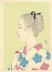 少女図 / 蕗谷虹児