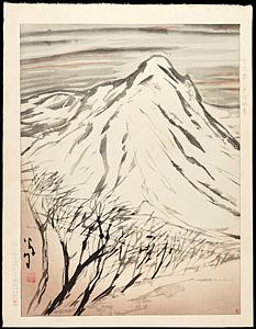 榛名の雪 / 竹久夢二