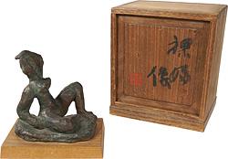 裸婦像 / 梅原龍三郎