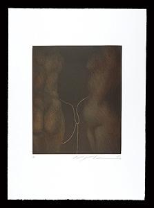 絆(銅版画集『クラシコ・トルソー』より) / 池田満寿夫