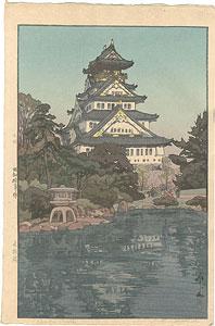 大阪城 / 吉田博