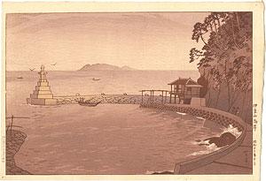 伊豆山海岸 / 笠松紫浪