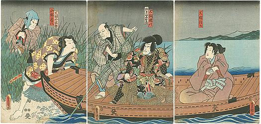 南総里見八犬伝 / 豊国三代