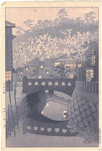 下田の街 / 笠松紫浪