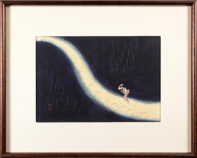 肉筆画 / 山本武夫