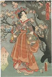 六花撰之内 桜 / 豊国三代