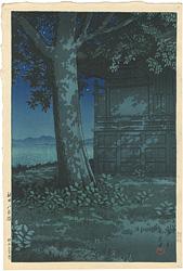 秋田八郎潟 / 川瀬巴水