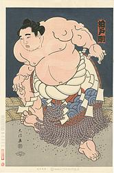 大相撲錦絵 第47代横綱 柏戸 / 木下大門
