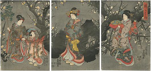 梅が春 / 豊国三代
