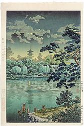 上野 不忍の池 / 土屋光逸