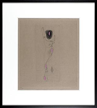 銅版画集『マリオネット』より マリオネット #5 / ハンス・ベルメール