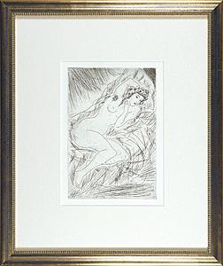 『平行棒』より 裸婦 / 藤田嗣治(レオナール・フジタ)