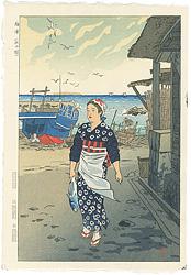 福浦(浜の娘) / 笠松紫浪