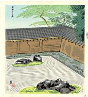 竜安寺石庭 / 徳力富吉郎