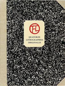 14のシャンソンのためのオリジナルリトグラフ集 / アンリ・ド・トゥールーズ=ロートレック