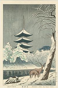 猿澤池 / 浅野竹二