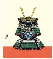 鎧飾り(仮題) / 徳力富吉郎