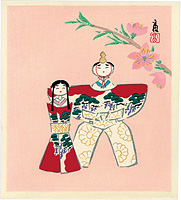 雛人形(仮題) / 徳力富吉郎
