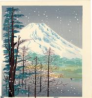 雪の富士(仮題) / 徳力富吉郎