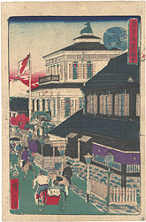 東京真景図会 する賀町三ツ井組 / 広重三代