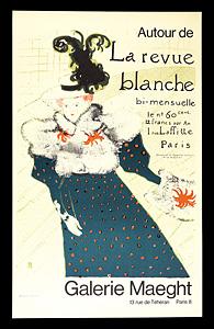 """トゥールーズ=ロートレック """"ラ・ルヴュ・ブランシュ"""" ◆ リトグラフ パリ・マーグ画廊"""