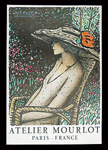 アート・エキスポ・ニューヨーク アトリエ ムルロ宣伝ポスター ◆ リトグラフ 1980年