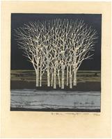 白い林 i. / 藤田不美夫