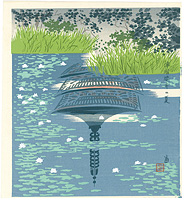浄瑠璃寺の夏 / 徳力富吉郎