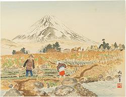 佐野村と富士 / 定方塊石