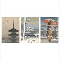 木版絵葉書 観光の京都