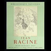 ジャン・ラシーヌ展ポスター(1967年・ムルロー工房)