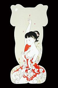 天と蜻蛉とこぼれる女 / 島崎良平