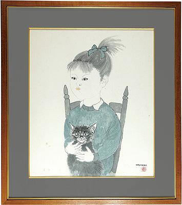 猫と少女 / 中村直人