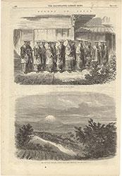 The Illustrated London News 1864年11月12日号より Scenes in Japan / メイソン・ジャクソン