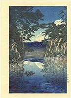 十和田湖 / 川瀬巴水