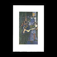 【銅版画】ジョルジュ・ブラック「緑色の大理石テーブル」