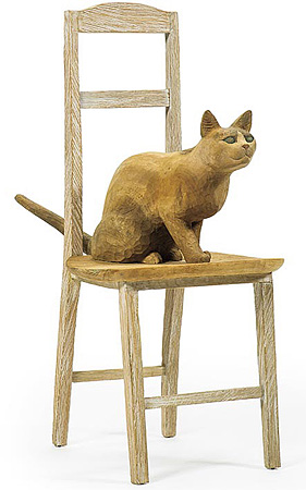 椅子の上の猫 / 島田鉱一呂