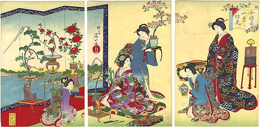 女礼式 四季之活花 / 延一