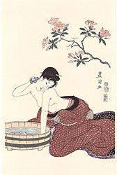 えり洗い【復刻版】 / 豊国初代