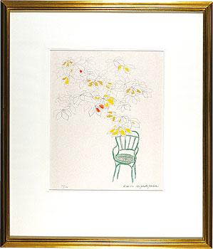 コンコルド広場の椅子(C) / 東山魁夷