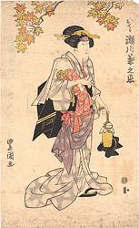 おてる 瀬川菊之丞 / 豊国初代