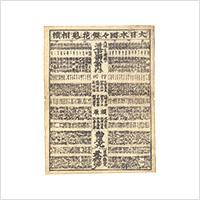 【木版】作者不詳「大日本国々繁花見立相撲」江戸期
