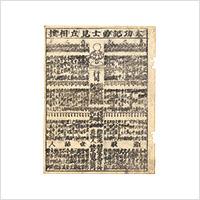 【木版】作者不詳「太功記勇士見立相撲」江戸期