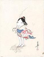 鯛とおかめ / 島崎良平