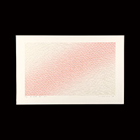 【シルクスクリーン】笠井正博「le vent du soir」昭和64年